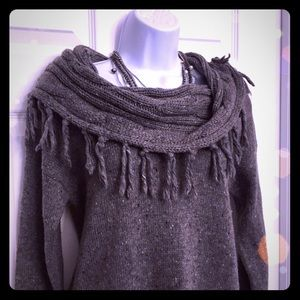 Forever 21 Cowl-neck Tunic Sweater NWOT